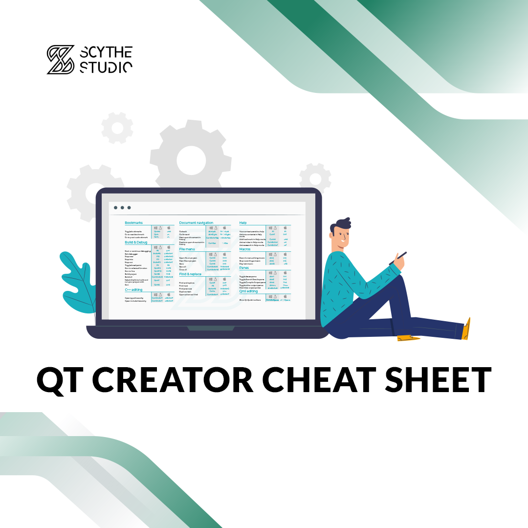 Qt Creator Cheat Sheet main image