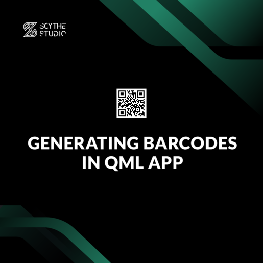 How to generate barcode in Qt/QML application main image